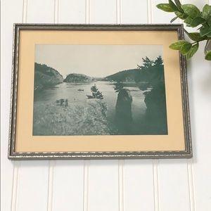 Vintage framed picture